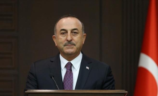 """Çavuşoğlu:  """"KKTC'nin ruhsat verdiği alanlarda da sondaj çalışmalarımızı sürdüreceğiz"""""""