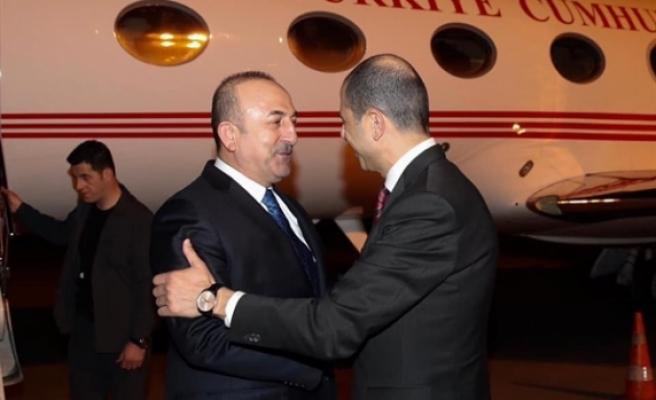 Çavuşoğlu KKTC'ye geldi