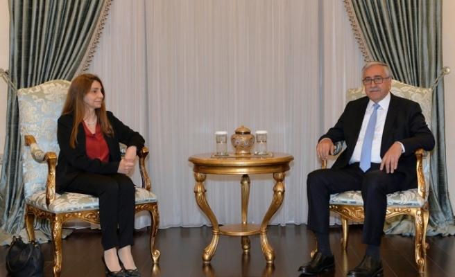 Cumhurbaşkanı Akıncı, YÖDAK heyetini kabul etti