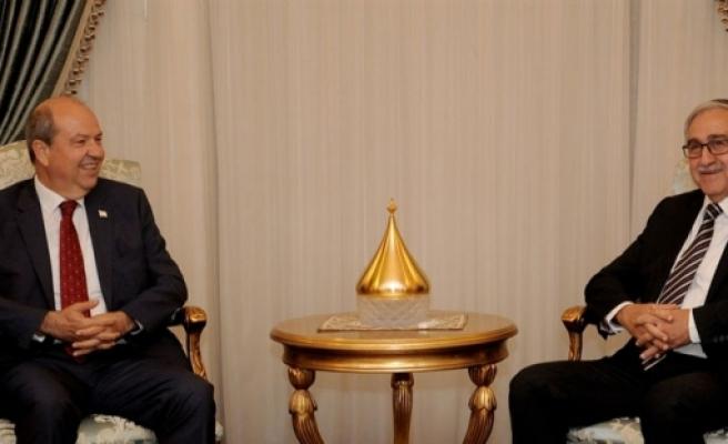 Cumhurbaşkanı Mustafa Akıncı, bugün UBP Başkanı Ersin Tatar'ı kabul edecek