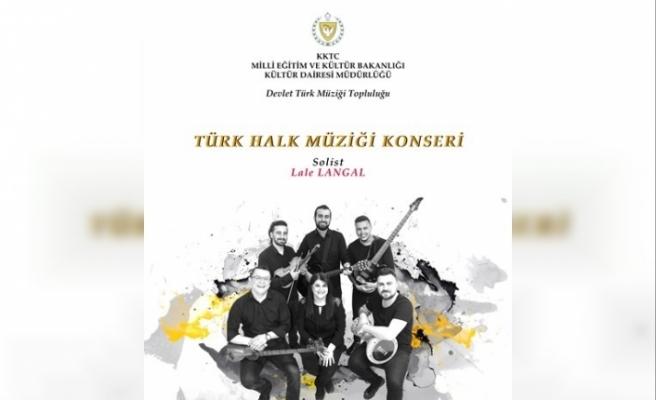 Devlet Türk Müziği Topluluğu pazartesi akşamı konser veriyor