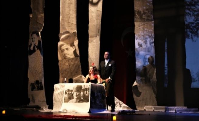 """""""Esaretten Özgürlüğe"""" isimli oyunu Lefkoşa Atatürk Kültür Merkezi'nde sahneleniyor"""