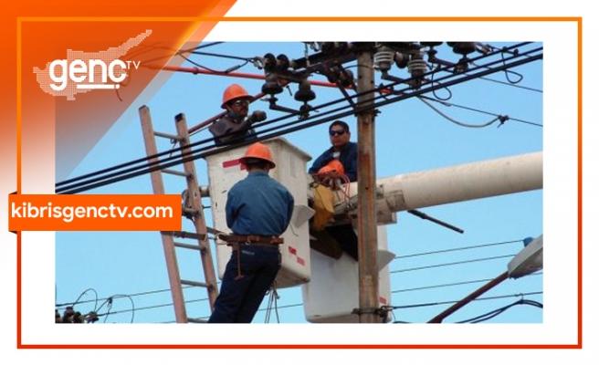 Girne bölgesinde 6 saatlik elektrik kesintisi