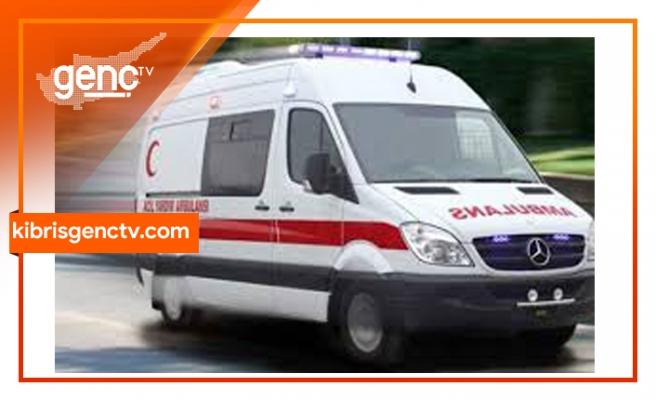 Girne-Lefkoşa yolunda trafik çarpışması