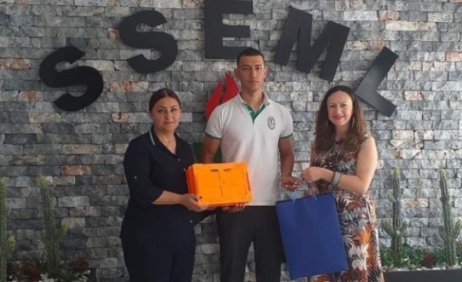 İş sağlığı ve güvenliği eğitimleri sonrasında düzenlenen yarışmada 9 öğrenci ödüllerini aldı