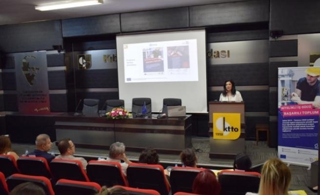 """""""Kuzey Kıbrıs'ta Mesleki Eğitim ve İşgücü Piyasasına Yönelik Hayat Boyu Öğrenim Projesi""""nin açılış etkinliği gerçekleştirildi"""