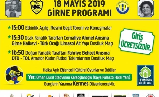 Leymosun Kültür Vakfı 18 Mayıs'tasportif bir etkinlik gerçekleştirecek