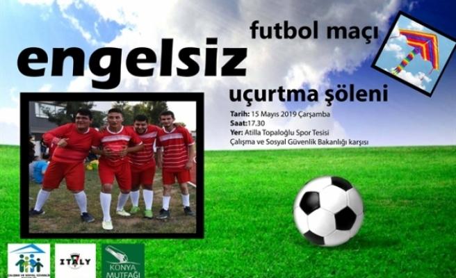 Özel gereksinimli gençler Milletvekilleri ile futbol karşılaşması yapacak