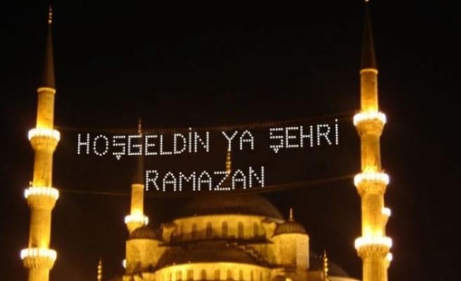 Ramazan bugün başladı