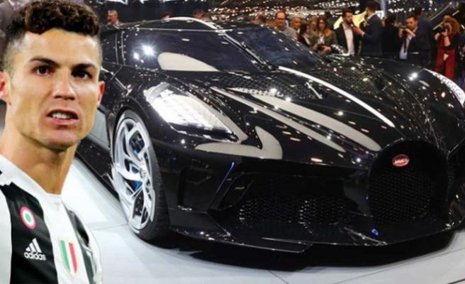 Ronaldo, dünyanın en pahalı ve sadece 1 tane üretilen otomobilini satın aldı