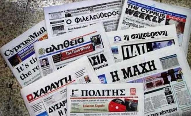 Rum gazeteleri bugün yayımlanmadı