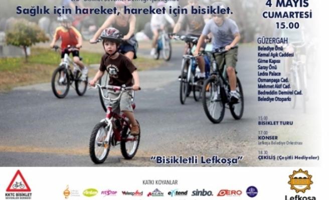 """""""Sağlık İçin Hareket, Hareket İçin Bisiklet"""" sloganıyla bisiklet turu düzenleniyor"""