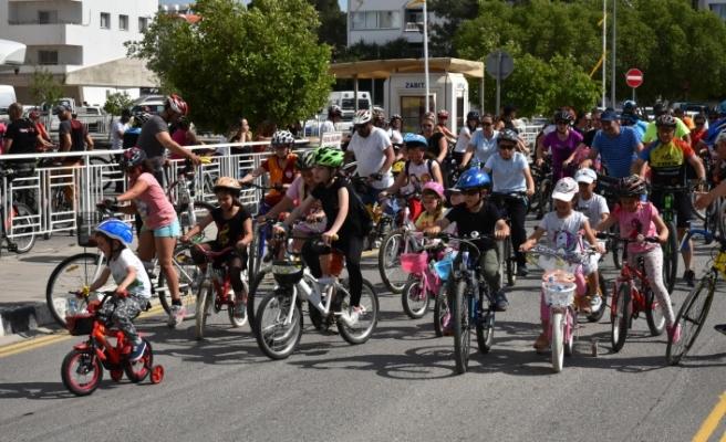 """""""Sağlık İçin Hareket, Hareket İçin Bisiklet"""" turu"""