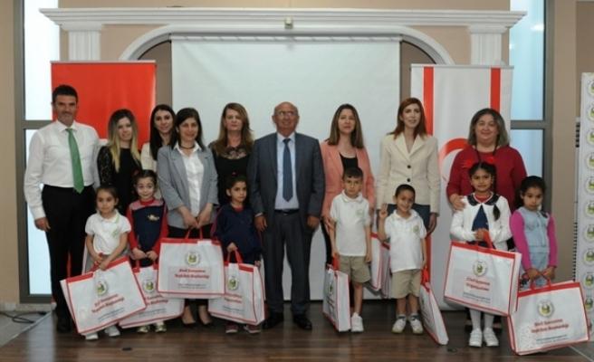"""""""Şiir"""" ve """"Kompozisyon"""" yarışmalarının ödül töreni, Sivil Savunma Teşkilatı Başkanlığında gerçekleştirildi"""