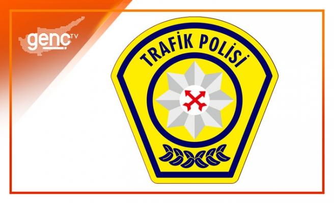 Son bir haftada 63 trafik kazası meydana geldi