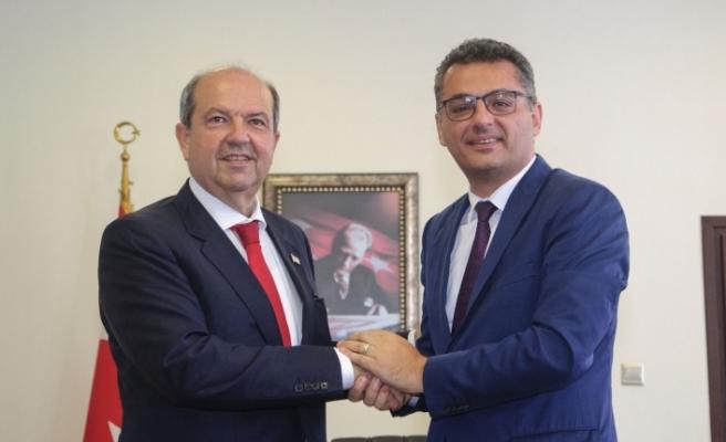 Tatar, görevi Erhürman'dan devraldı