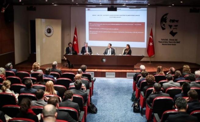 Türkiye Dışişleri Bakanlığından Ankara'daki misyonlara Doğu Akdeniz brifingi