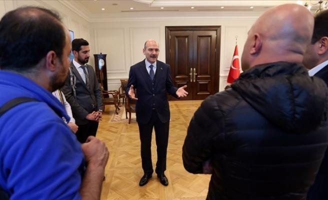 """Türkiye İçişleri Bakanı Soylu: """"Yasaklama söz konusu değil"""""""