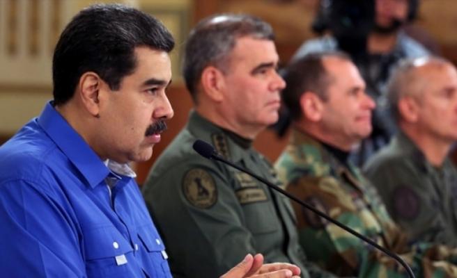Venezuela Devlet Başkanı Maduro: Darbe girişimi cezasız kalmayacak