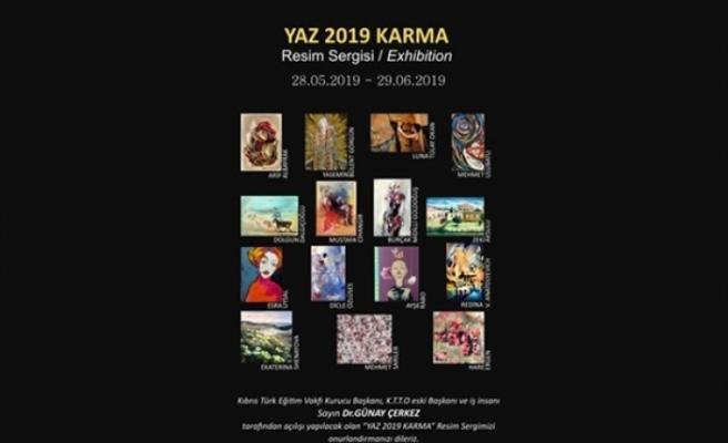 """Yaz 2019 Karma"" Resim Sergisi 28 Mayıs'ta"
