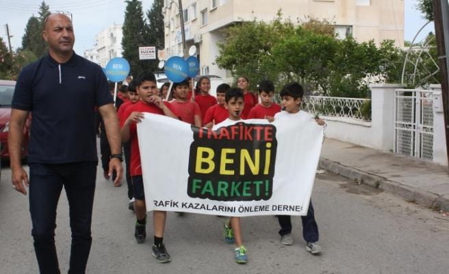 Yürüyüş yarın Girne'de