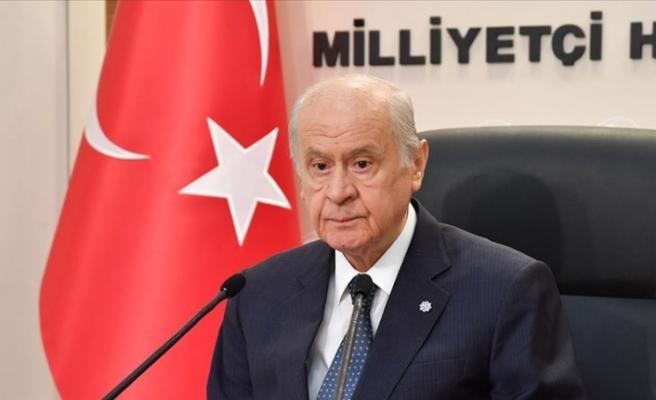 """Bahçeli: """"Yeni bir erken seçim bahsi açmak Türkiye'ye yapılacak en büyük kötülük"""""""