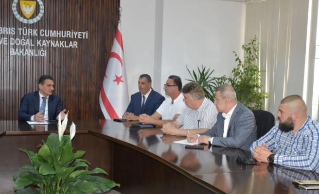 Bakan Oğuz,  Süt Ürünleri İmalatçıları Birliği'ni kabul etti