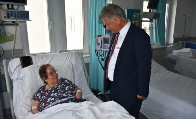 Bakan Pilli'den Gazimağusa Devlet Hastanesine ziyaret