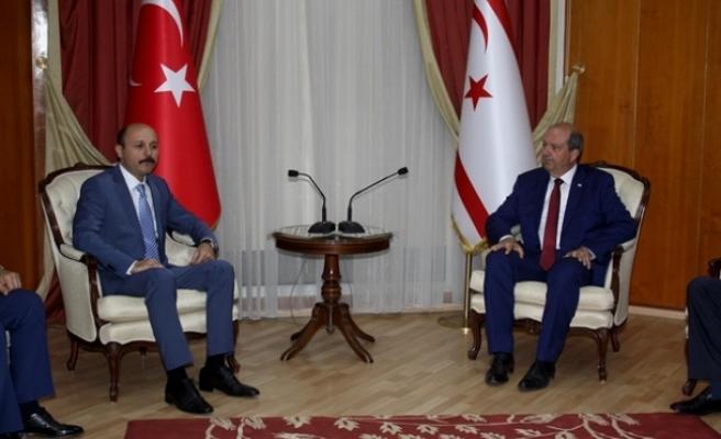 Başbakan Tatar: Rumlar bu adanın tek sahibi değildir