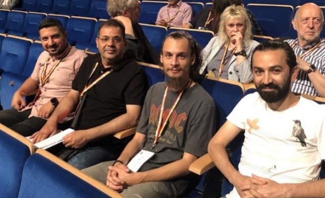 Basın Sen, IFJ kongresine katıldı