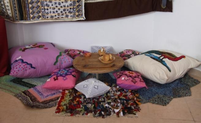 Boğaziçi köy kadın kursu sergisi açıldı