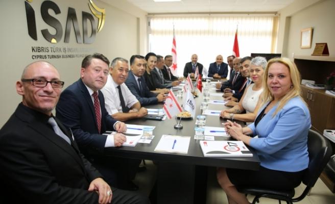 Büyükelçi'den İŞAD'a ziyaret