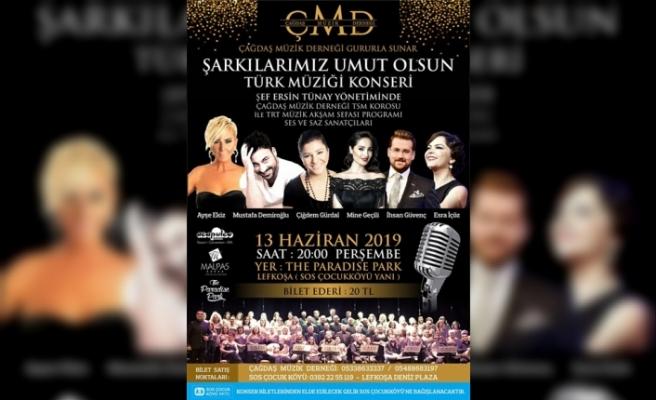 Çağdaş Müzik Derneği'nden , SOS Çocukköyü yararına konser