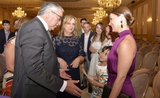 Cumhurbaşkanı Akıncı, Tangül Çağıner Çocuklara Yardım Vakfı tanıtım etkinliğine katıldı