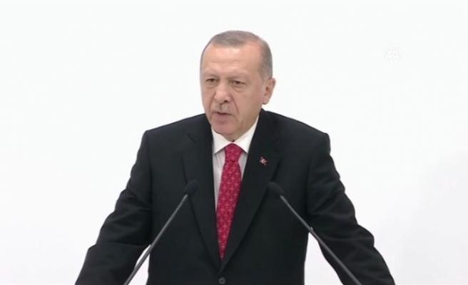 """Erdoğan: """"S-400 teslimat sürecindedir, bu iş bitti"""""""