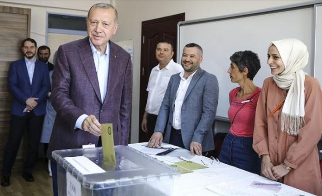 """Erdoğan: """"Seçmen en isabetli kararı verecektir"""""""
