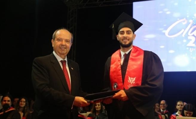 GAÜ 33. Dönem Mezuniyet Töreni'nin 2. gününde diplomalarını aldı