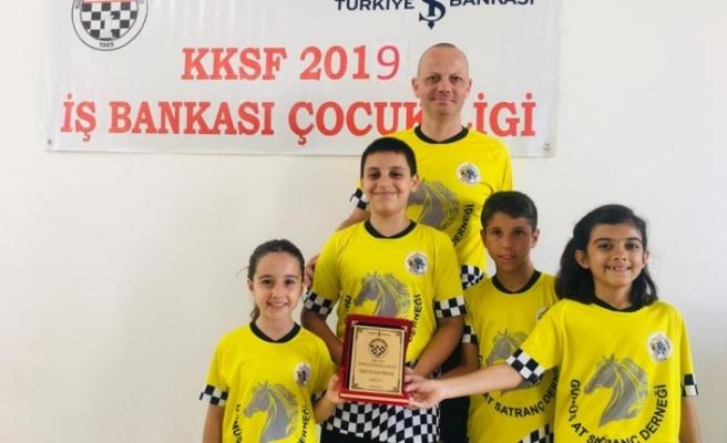 Gümüş At Satranç Derneği 4. kez Girne birincisi