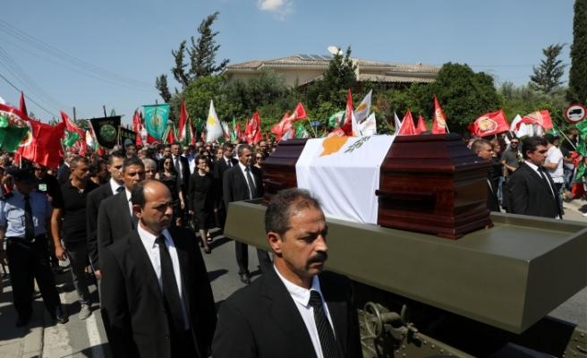 Hristofyas için cenaze töreni