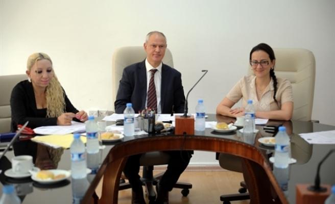 Hukuk Komitesi, yeni başkanı ile toplandı