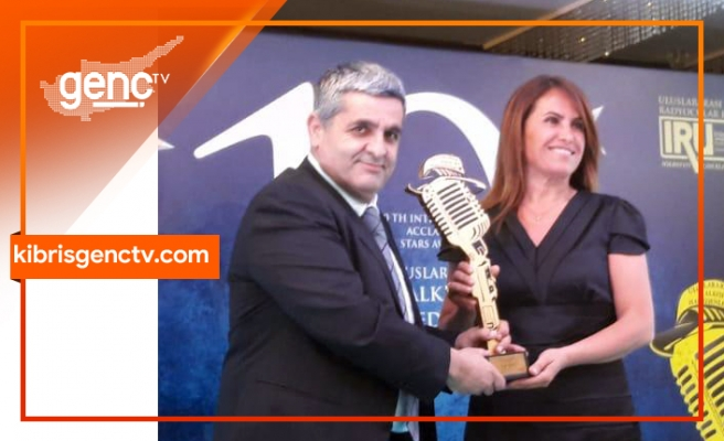 Kıbrıs Genç Tv'ye Ankara'da ödül