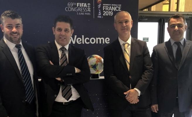 Meclis ve Futbol Federasyonu heyetleri FİFA'da temaslar yaptı