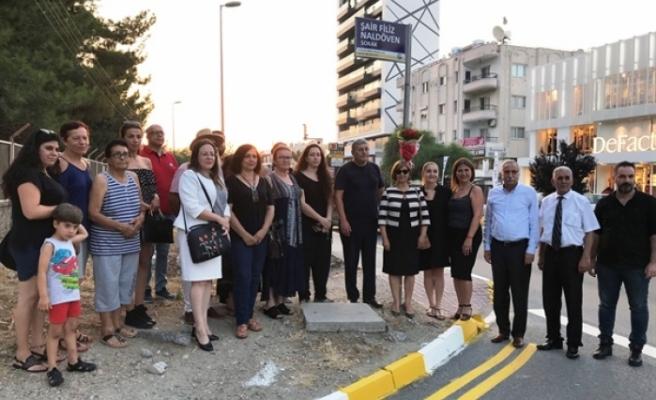 Meral Akıncı, Şair Filiz Naldöven'i anma etkinliğine katıldı