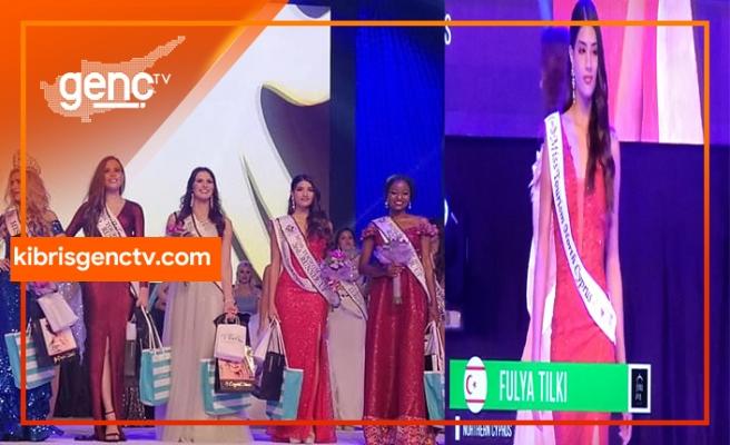 Miss Kuzey Kıbrıs 2017 Güzellik Kraliçesi Fulya Tilki Dünya Turizm dördüncü güzeli seçildi