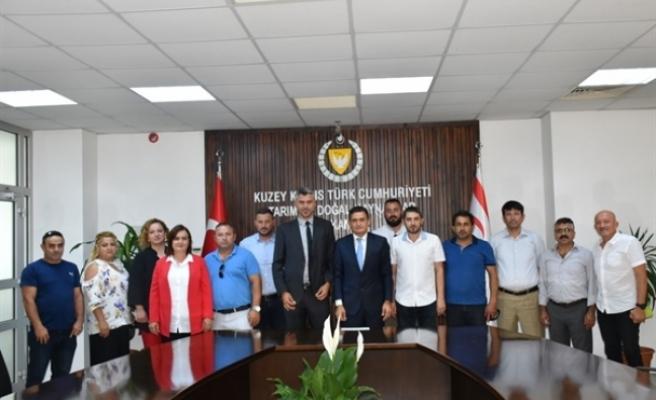 Oğuz, Karadeniz Kültür Derneğinini kabul etti