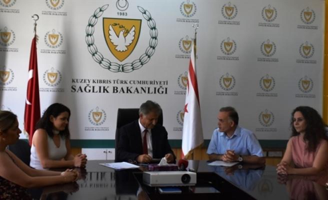 Pilli, Kıbrıs Türk Diş Tabipleri Odasını kabul etti