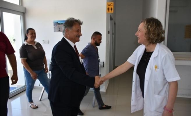 """Sağlık Bakanı Pilli: """"İskele ve Karpaz bölgesindeki eksiklikler için gerekli adımlar atılacak"""""""