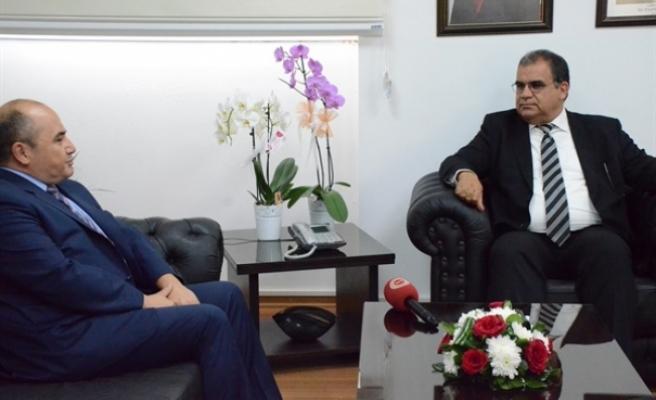 Sucuoğlu, Büyükelçi Başçeri'yi kabul etti