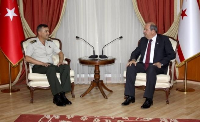 Tatar, Tümgeneral Yılmaz Yıldırım'ı kabul etti