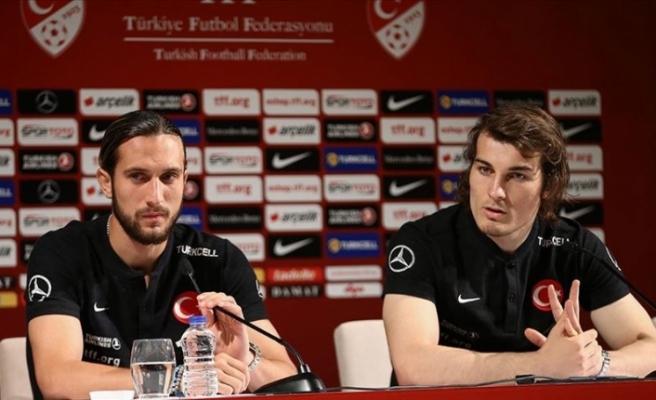 Türkiye A Milli futbolcular Fransa maçından umutlu